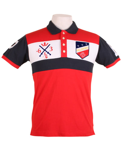 Sagisag Polo in Red