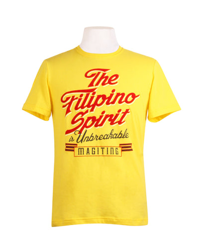 Filipino Spirit in Yellow