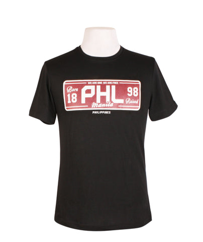 PHL Black Plate Red