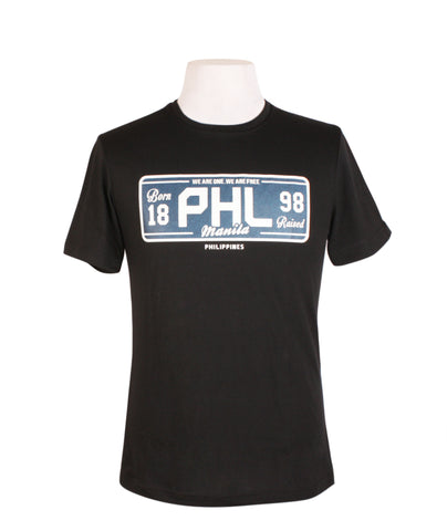 PHL Black Plate Blue