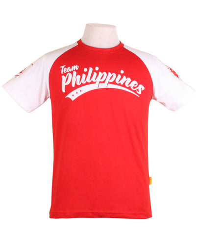 Team Philippines in red