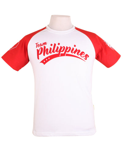 Team Philippines in white