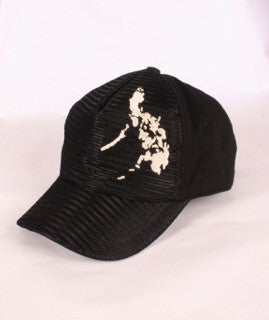 Mesh Cap Black with white map
