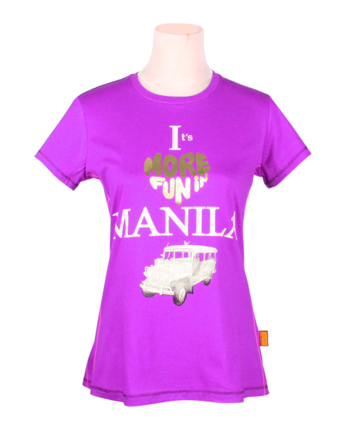 It's more fun in Manila in Purple for Ladies
