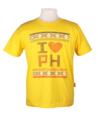 I Heart PH Weave in Lemon