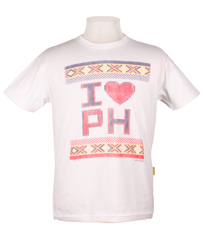 I Heart PH Weave in White