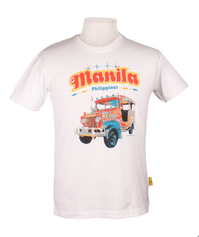 Manila Retro in White
