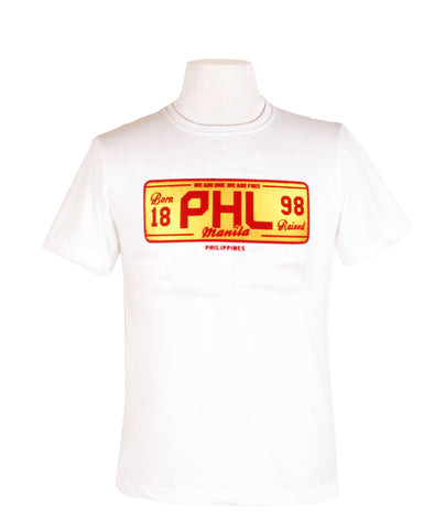PHL Plate in White
