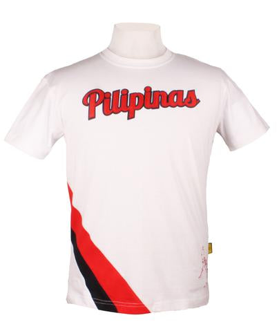 Pilipinas Sports Shirt in white