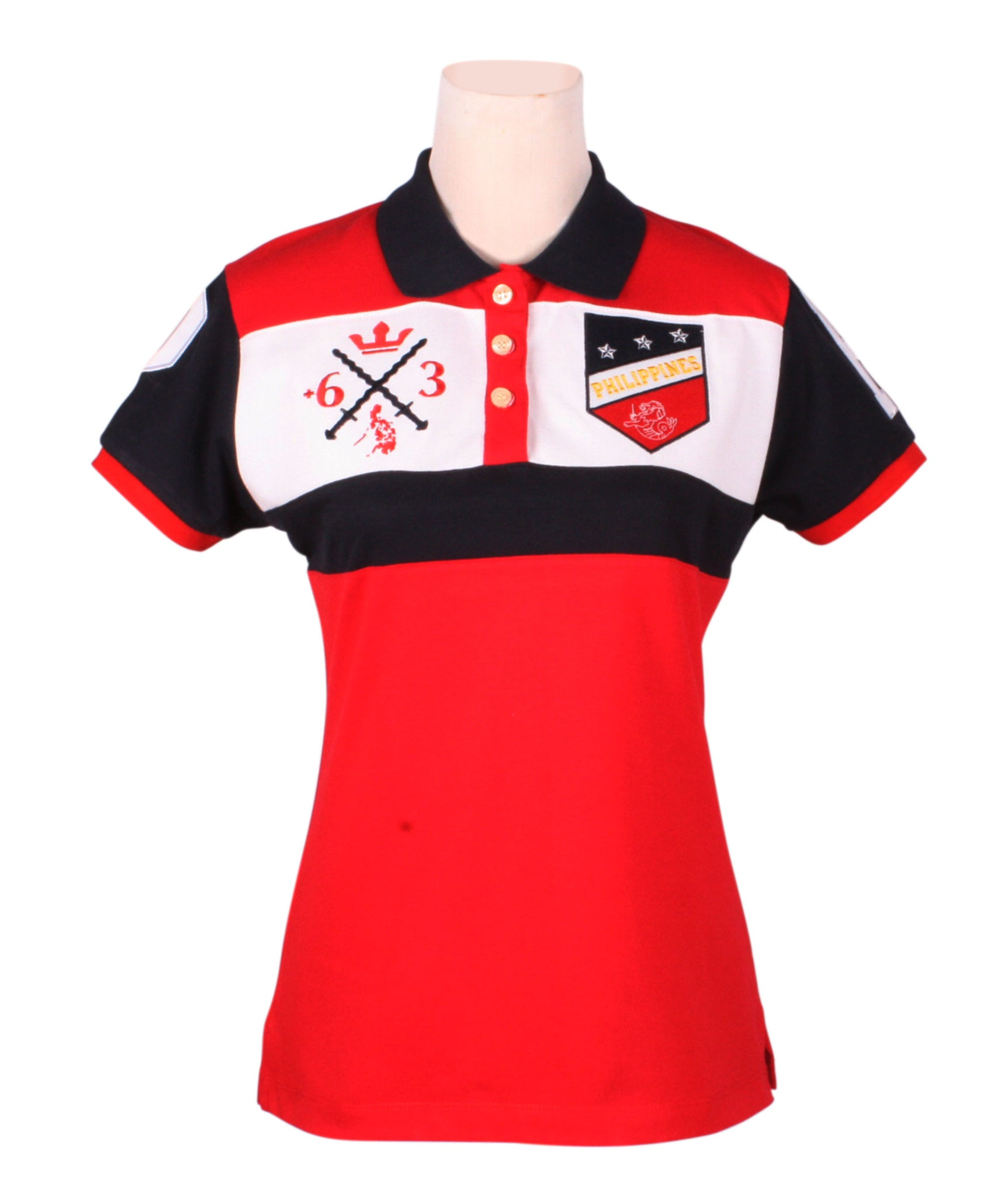 Sagisag Polo in Red for Ladies