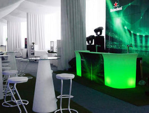 Slide JUMBO BAR Leuchttheke Eventtheke Gerades Element | brandamba.com