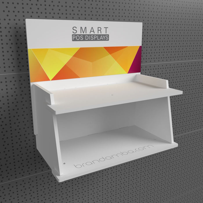 Regal Wanddisplay - SMART POS Display