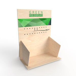 Thekendisplay 3PP - GREEN POS Display | brandamba.com