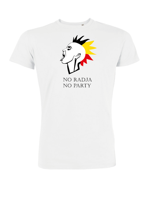 t-shirt no radja no party (m)