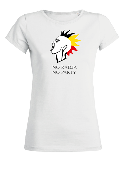 t-shirt no radja no party (vr)