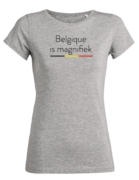 t-shirt Belgique is magnifiek (vr)