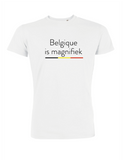 t-shirt belgique is magifiek (man)