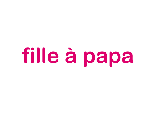 sweat T fille à papa