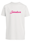 t-shirt jaimelavie fuchsia flock
