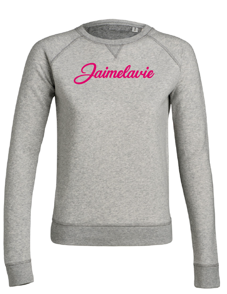 sweater jaimelavie opdruk flock