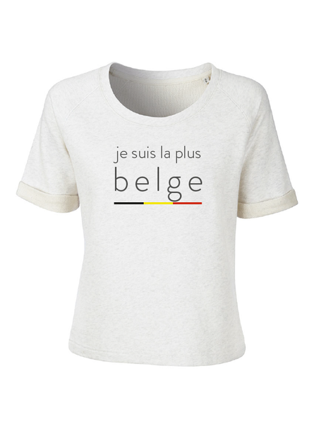 sweat T je suis la plus belge