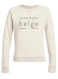 sweater je suis la plus belge