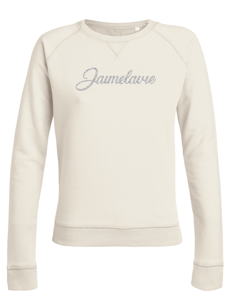 sweater jaimelavie opdruk glitter
