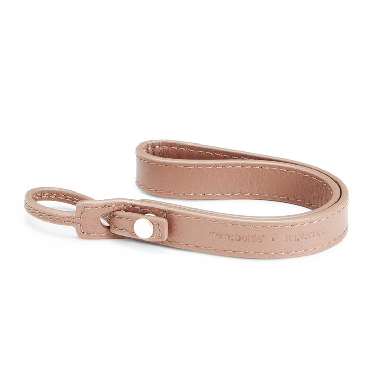 Leather Lanyard - Nude