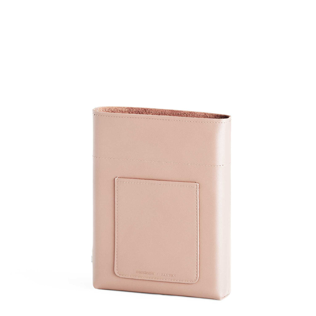 A5 Leather Sleeve - Nude