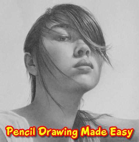 How to draw hair How to draw a portrait