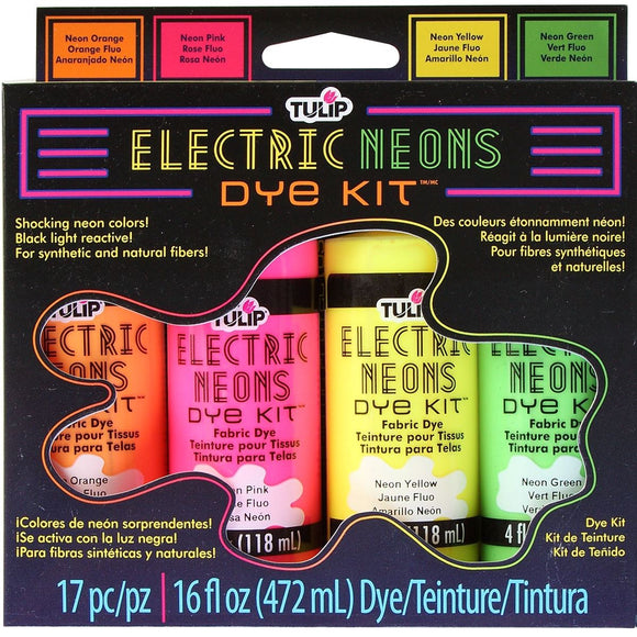 Tulip® Electric Neons Dye Kit
