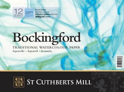 Bockingford Cold Pressed Watercolour Pad A3