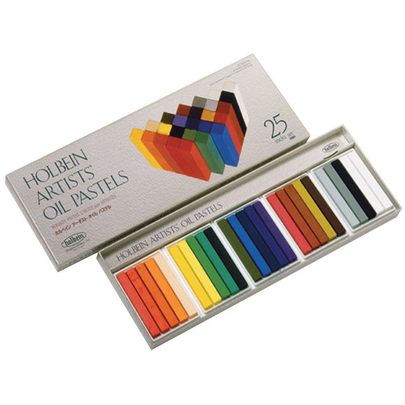 HOLBEIN ARTIST OIL PASTELS Set of 25