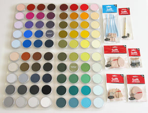 PanPastel 80 Colour Set Full Colour Range&Soft Tools