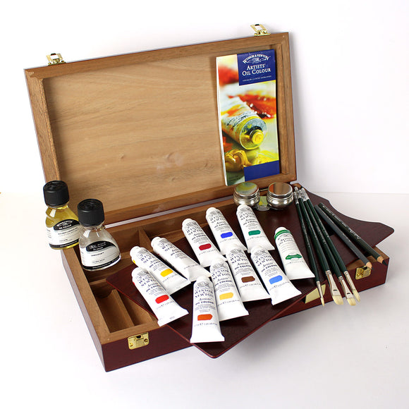 Winsor & Newton Bloomsbury Oil Paint Set Box