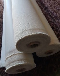 GLOWART PRIMED COTTON CANVAS ROLL 570 GSM