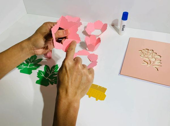 DIY Origami Pop Card Making Kits - Free Shipping