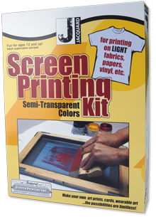JACQUARD Semi Transparent Screen Printing Kit