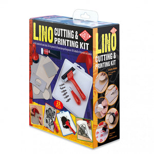 ESSDEE : LINO CUTTING PRINTMAKING SET : 23 PIECE