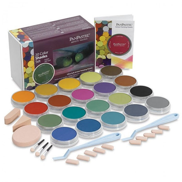 PanPastel 20 Colour Set Shades