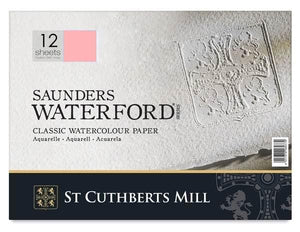 "SAUNDERS WATERFORD BLOCK 270 X 370mm  10.5""x14.5"" HP 300 gsm"
