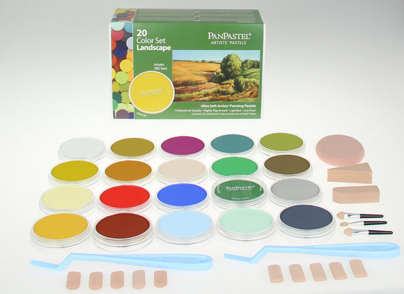 PanPastel 20 Colour Set Landscape