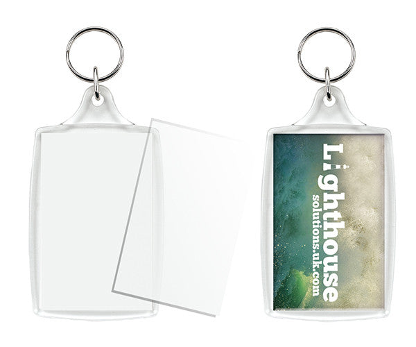 L4 Extra Large Keyring 70 x 45mm Insert Size