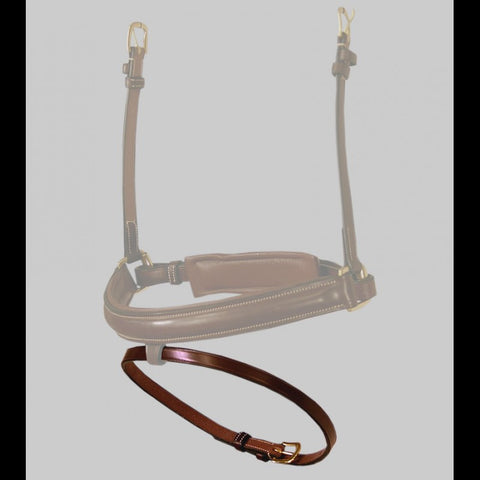 "DYON smooth lanyard 1/2 ""(13 mm) for combined noseband"