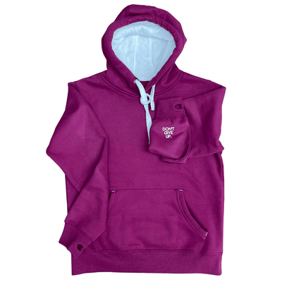 Positivity Hoodie - Cranberry