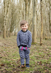 Little Wildlings Jogger LW Original Stonewash Leopard Jogger