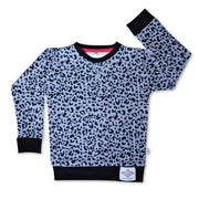 Little Wildlings Jumper 2-3y LW Original Stonewash Leopard Jumper