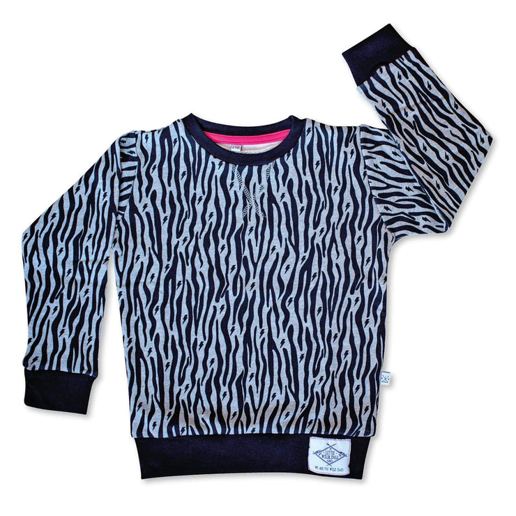 Little Wildlings Jumper 2-3y LW Original Zebra Jumper