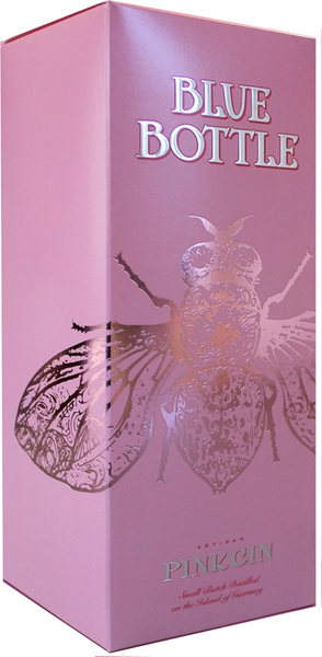 Blue Bottle Pink Gin GIFT BOX 70cl 44%