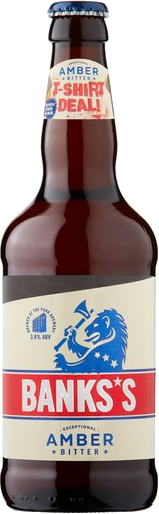 Banks Bitter 8x500ml 3.8%
